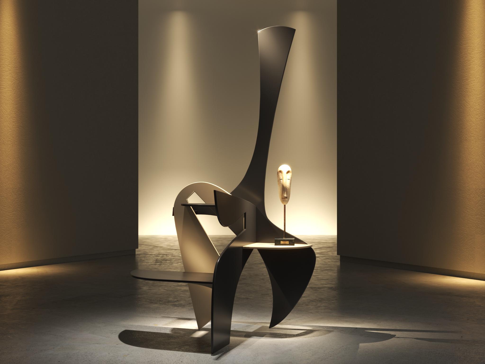 mobile scultura uomo